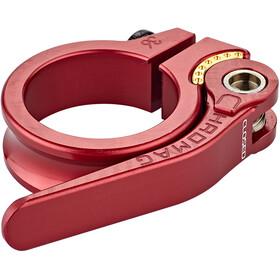 Chromag QR Seatpost Clamp Ø36,5mm, czerwony